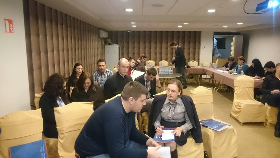 Trening za razvoj strategija za mlade i žene u političkim strankama u BiH