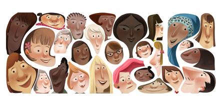Google doodle čestitka